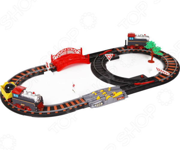 Набор железной дороги игрушечный Yako «Останови крушение!» 1724271