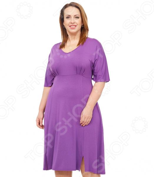 Платье Laura Amatti «Нежная радость». Цвет: сиреневый