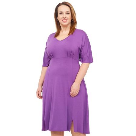 Купить Платье Laura Amatti «Нежная радость». Цвет: сиреневый