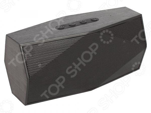Колонка портативная беспроводная Ginzzu GM-891B беспроводная bluetooth стерео музыку аудио приемник для ipod iphone в мп3 формате mp4 пк