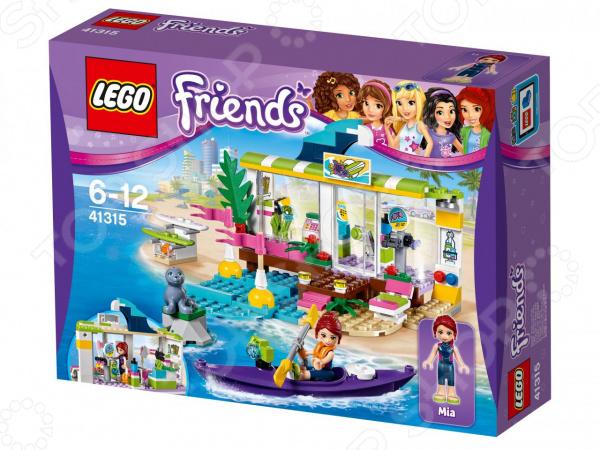 Конструктор игровой LEGO Friends «Серф-станция» lego education 9689 простые механизмы