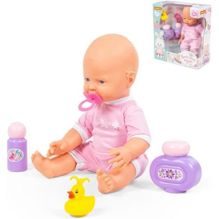 Купить Набор: кукла с соской и принадлежности для купания POLESIE «Веселый»