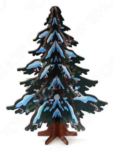 Декорация новогодняя Новогодняя сказка «Елочка» свеча новогодняя erich krause елочка деревянная 15 см