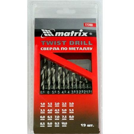 Купить Набор сверл по металлу MATRIX 72388