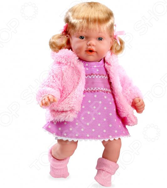 Кукла интерактивная Arias Elegance в вязаной курточке