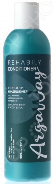 Кондиционер для оживления и роста волос Argaway с маслом арганы и макадамии