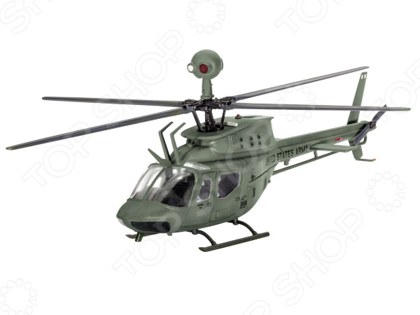Набор сборной модели вертолета Revell Bell OH-58D