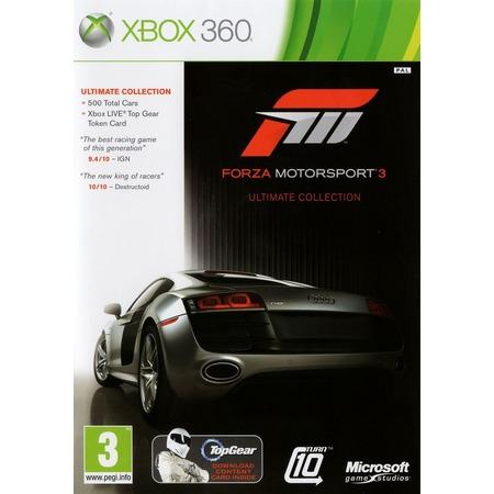 Купить Игра для Microsoft Xbox 360 Forza Motorsport 3 Ultimate Collection (rus sub)