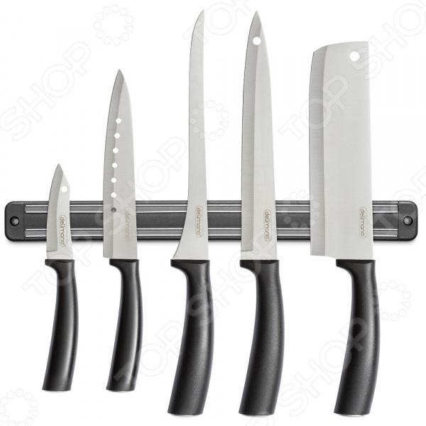 Набор ножей с магнитным держателем Delimano «Брава» 6 в 1