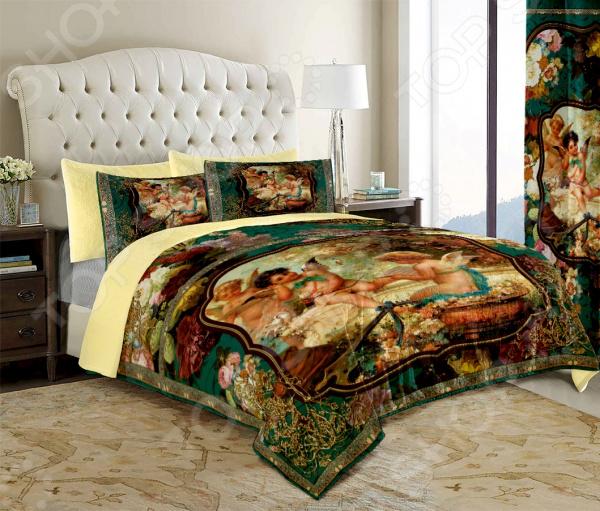 Комплект постельного белья «Ангелочки». Евро