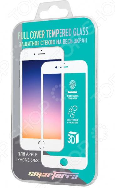 Стекло защитное Smarterra для iPhone 6/6S