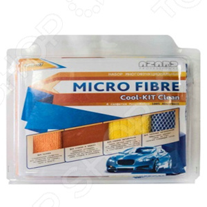 Набор салфеток для автомобиля Azard Cool-kit Clean