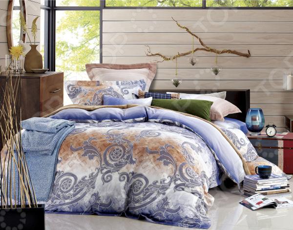 Комплект постельного белья La Noche Del Amor А-617 комплект белья la noche del amor евро наволочки 70х70 цвет сиреневый голубой зеленый а 652 200 240 70