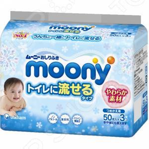 Влажные гигиенические салфетки для детей MOONY 4903111-182381