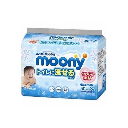 Купить Влажные гигиенические салфетки для детей MOONY 4903111-182381