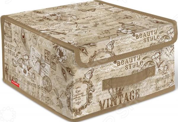 Короб для хранения с крышкой Valiant Vintage