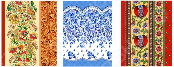 Набор из 3-х вафельных полотенец ТексДизайн «Подарочный» платье ruxara ruxara mp002xw0zzju
