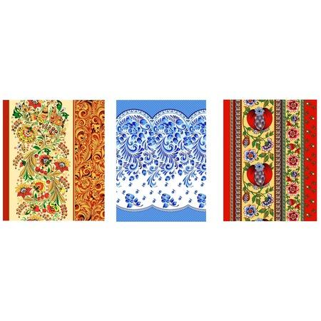 Купить Набор из 3-х вафельных полотенец ТексДизайн «Подарочный»