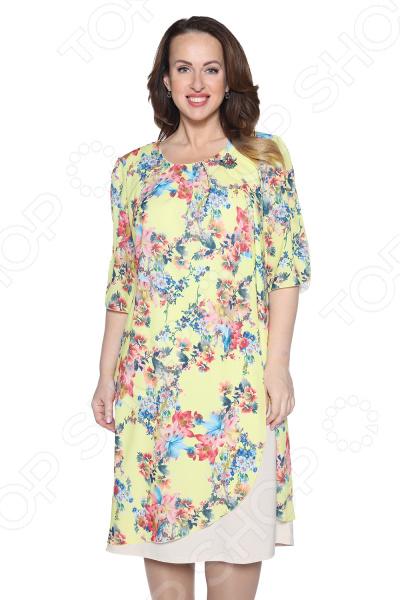 Платье Pretty Woman «Розетта». Цвет: желтый