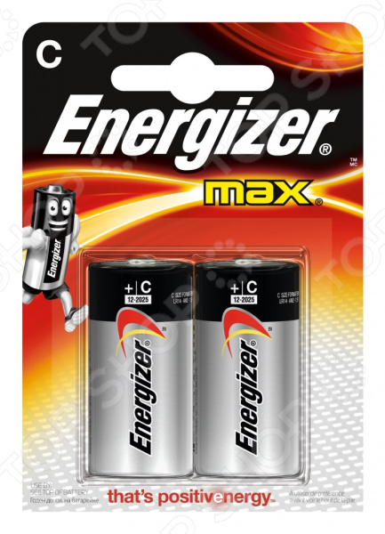 Набор алкалиновых батареек Energizer AX E93/C FSB2
