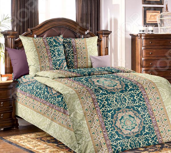 цена Комплект постельного белья Белиссимо «Визаж» онлайн в 2017 году