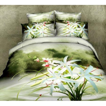 Купить Комплект постельного белья Mango «Белые лилии». 2-спальный