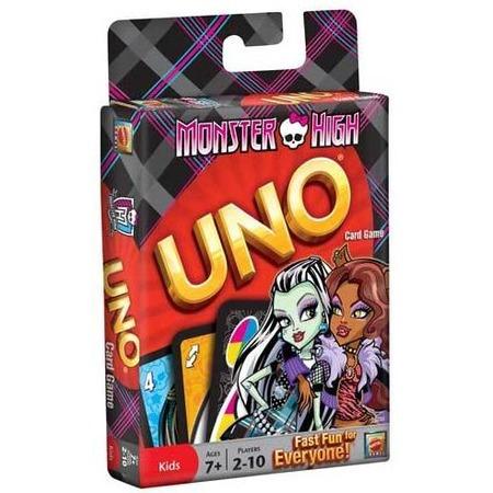 Купить Игра настольная Mattel Уно «Monster High»