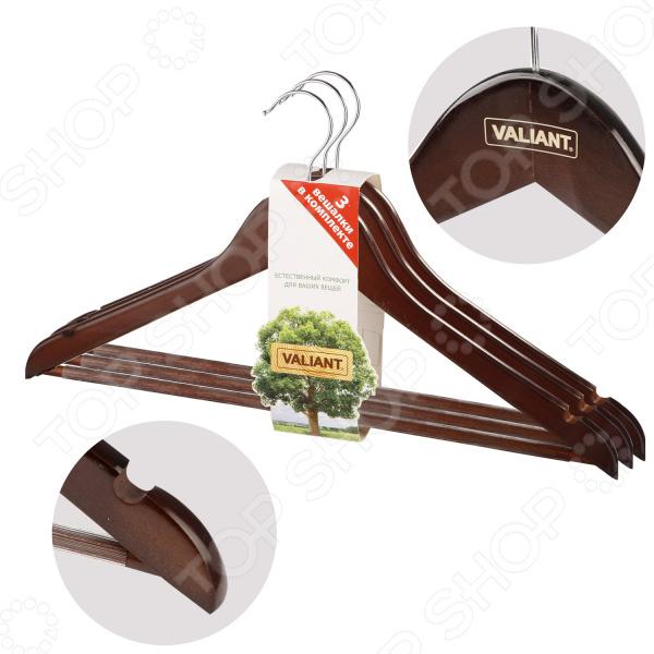 Набор вешалок-плечиков Valiant Tie Beam Anti-Slip