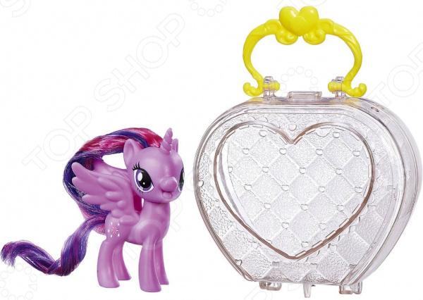 Мягкая игрушка Hasbro «My Little Pony в сумочке. В ассортименте puppy in my pocket 48200 щенок в моем кармане сумочка со щенками в ассортименте