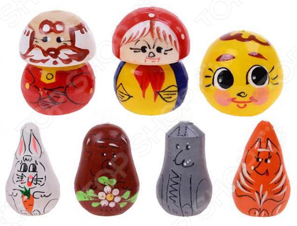 Пальчиковый театр Русские народные игрушки «Колобок» игрушки для детей