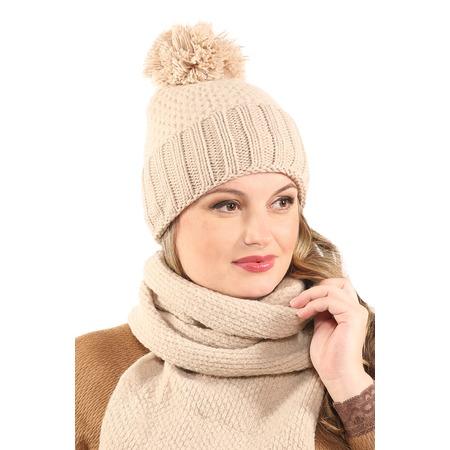 Купить Комплект шапка и шарф Electrastyle «Винтер»