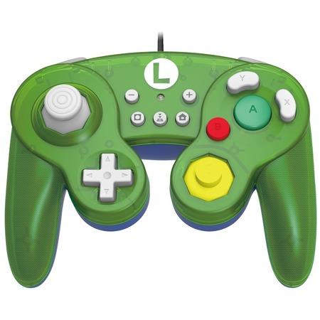 Купить Геймпад HORI Battle Pad. Luigi для Nintendo Switch