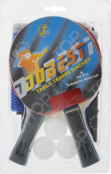 Набор для настольного тенниса DoBest BR18 1*. В ассортименте 1