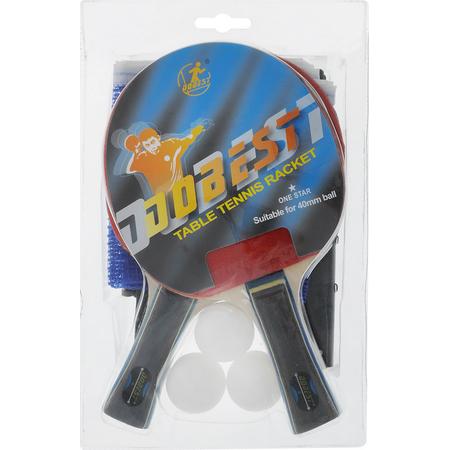 Купить Набор для настольного тенниса DoBest BR18 1*. В ассортименте