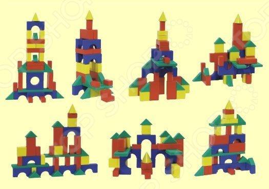 Кубики обучающие Форма «Строительный набор №2. Средний»