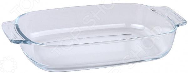 Форма для выпечки стеклянная прямоугольная Pomi d'Oro набор посуды для готовки pomi d oro terracotta conveniente set