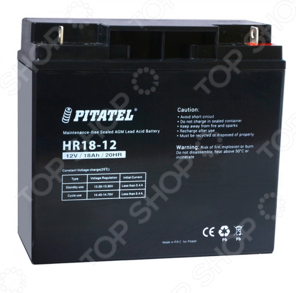 Аккумулятор для источников бесперебойного питания Pitatel HR18-12