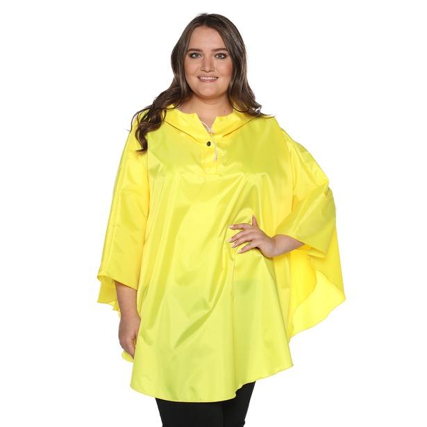фото Пончо-дождевик Гранд Гром «После дождя». Цвет: желтый