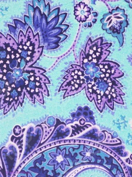Обложка для автодокументов кожаная Mitya Veselkov «Голубой принт»