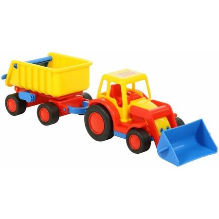 Купить Трактор-погрузчик Wader «Базик» с прицепом