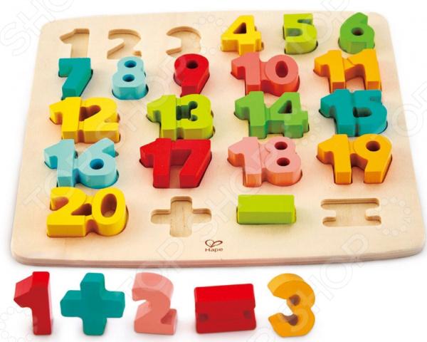 Мозаика-головоломка Hape «Математическая»