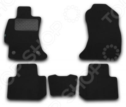 Комплект ковриков в салон автомобиля Klever Subaru Forester 2013 Premium