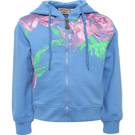 Купить Толстовка для девочки Finn Flare Kids KS16-71050. Цвет: голубой