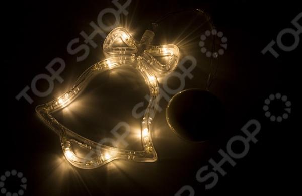 Фигура светодиодная Neon-Night на присоске с подвесом «Колокольчик» фигура акриловая светодиодная neon night мухомор 120 led с понижающим трансформатором 35 х 35 см