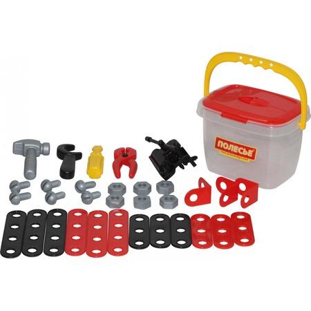 Купить Игровой набор для мальчика POLESIE в ведре «Механик»