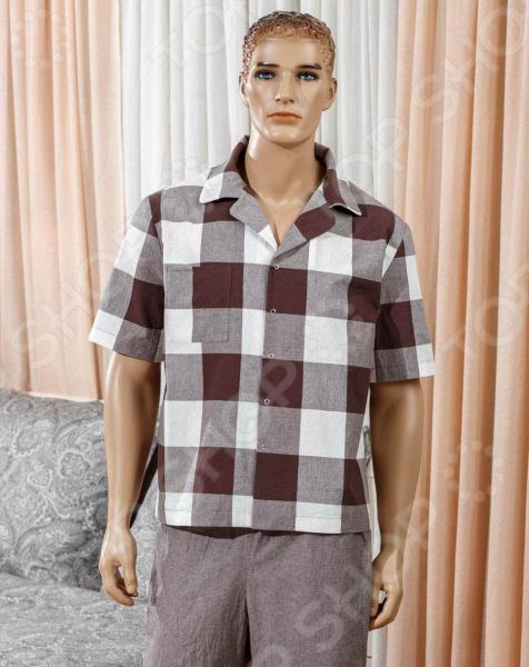 Рубашка мужская Primavelle с коротким рукавом Boris