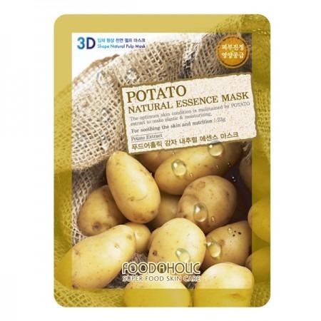 Купить Маска тканевая для лица FoodaHolic 3D с экстрактом картофеля