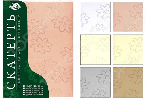 Скатерть Мультидом «Цветок» B65-75. В ассортименте