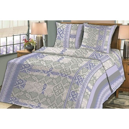 Купить Комплект постельного белья Fiorelly «Кружево». 1,5-спальный