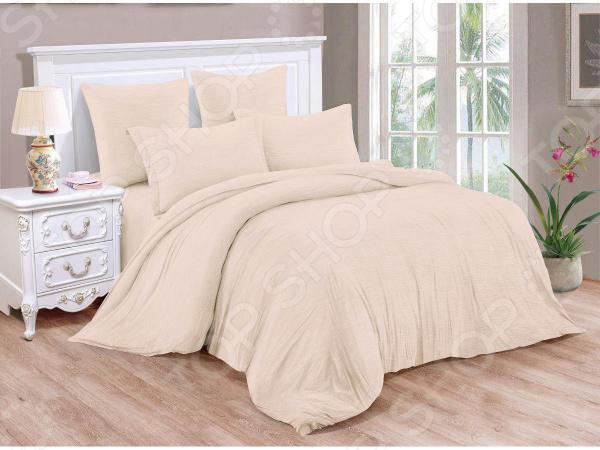 Комплект постельного белья Cleo Pastel Symphony 043-PT комплект постельного белья 1 5 спальный la pastel цвет мультиколор